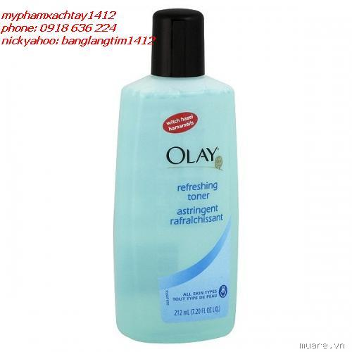 MY PHAM XACH TAY  origins StIves Queen HeleneneutrogenaOlay-sears-olay-toner-refreshing-720-fl-oz-212-ml-1_1300419914