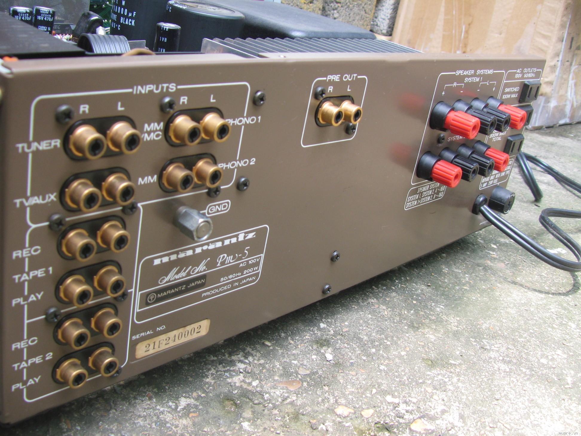 Bán Amply Marantz  PM-5 ,DVD Pioneer DVR 1000 , CD Pioneer PD_M 455 - 2