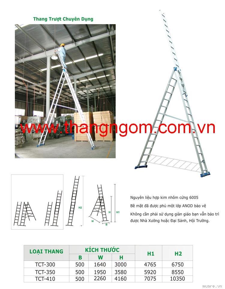 Thang nhôm công nghiệp MIKADO. Một sản phẩm toàn diện cho mọi nhà, mọi nghành nghề