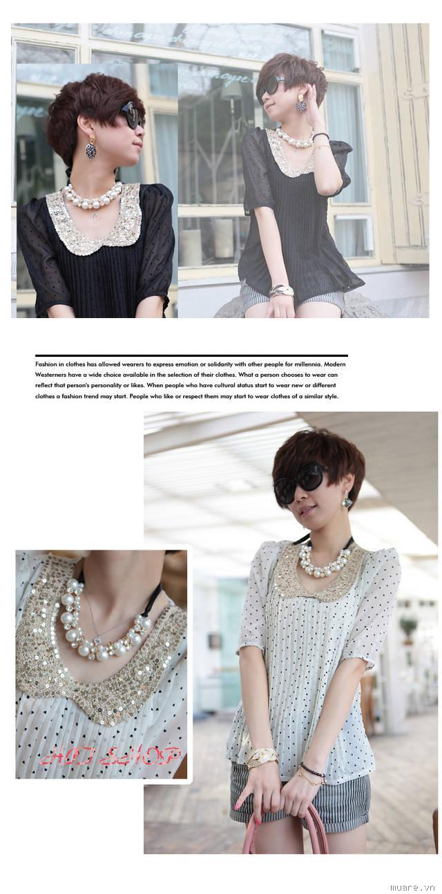 Áo sơ mi,áo voan,áo vét,đầm,váy theo phong cách Hàn Quốc,rẻ,đẹp nhất hiện nay!!!
