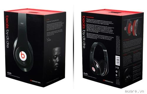 Tai nghe Monster beats by dr. dre:tour, Ibeast, solo HD, Stuidio