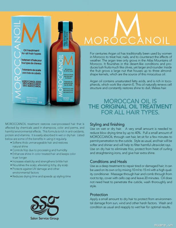 MOROCCANOIL Hang HOT gia TOT OFF 25 gia Cong ty