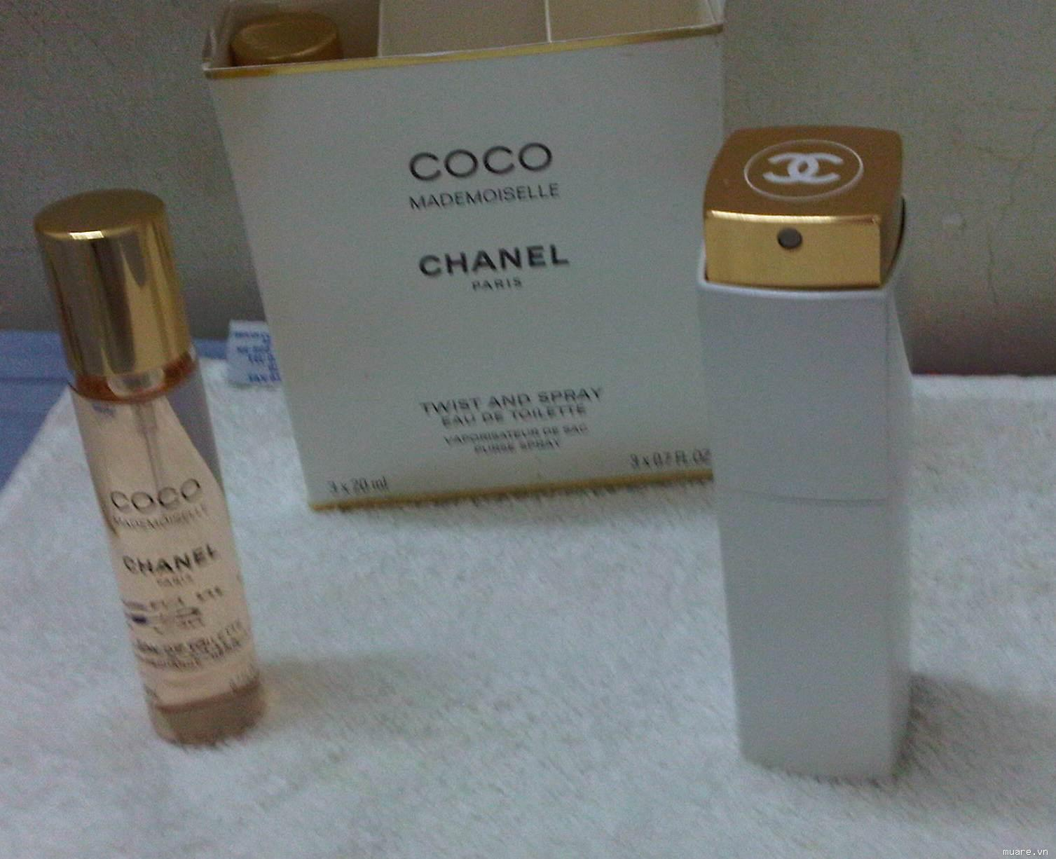 COCO MADEMOISELLE CHANEL 60ML Made in France Mua tai Phap