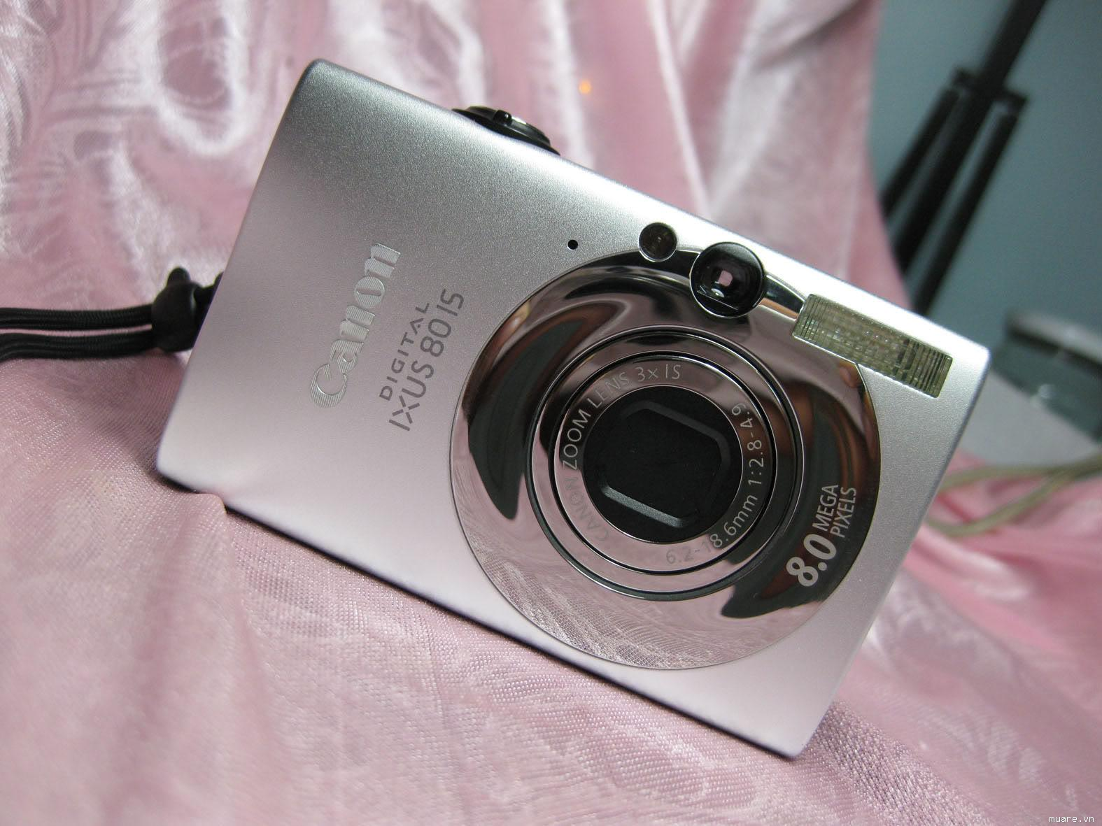 Canon Ixus 80is made in Japan hàng chất