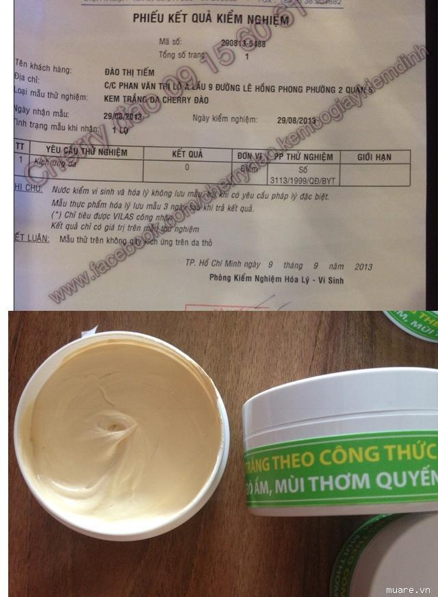 HCM - kem kít trắng da dành cho da ngâm đen da chai lì kem BẢO ĐẢM ...