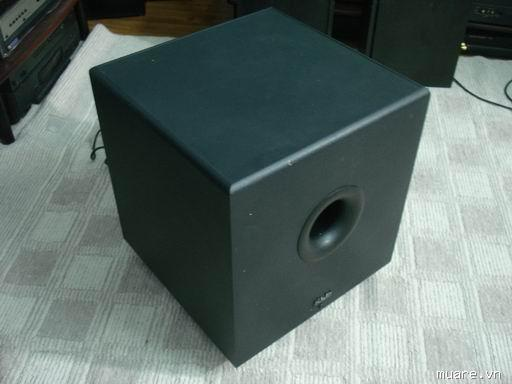 Klh asw10-120 powered subwoofer